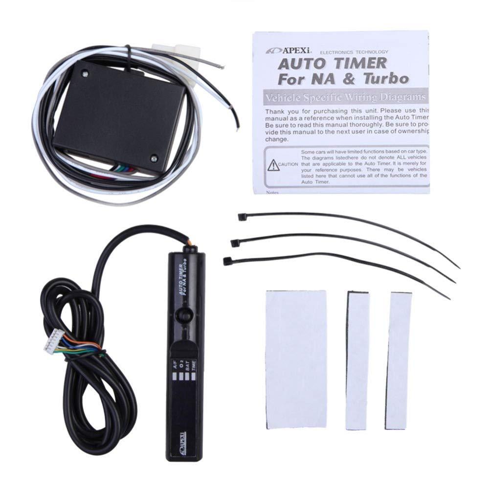 Sala-Ctr - Universal Pen Size Auto Turbo Timer for NA Turbo Digital White LED Display #LO - - Amazon.com