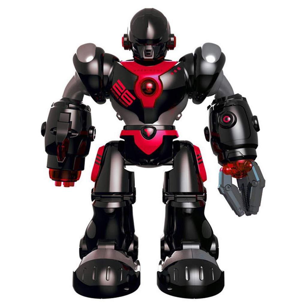 DUWEN Control Remoto Inteligente Inteligente Inteligente Robot Toy Charging Voice Dialogue Mecaacute;nico Canto y Baile Nintilde;os 11d55a