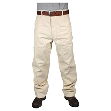 Amazon.com: Caboose Natural White Painters Pants: Clothing