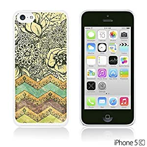 Fabric Pattern Hard Back For SamSung Galaxy S6 Case Cover - Bohemian Art Painting