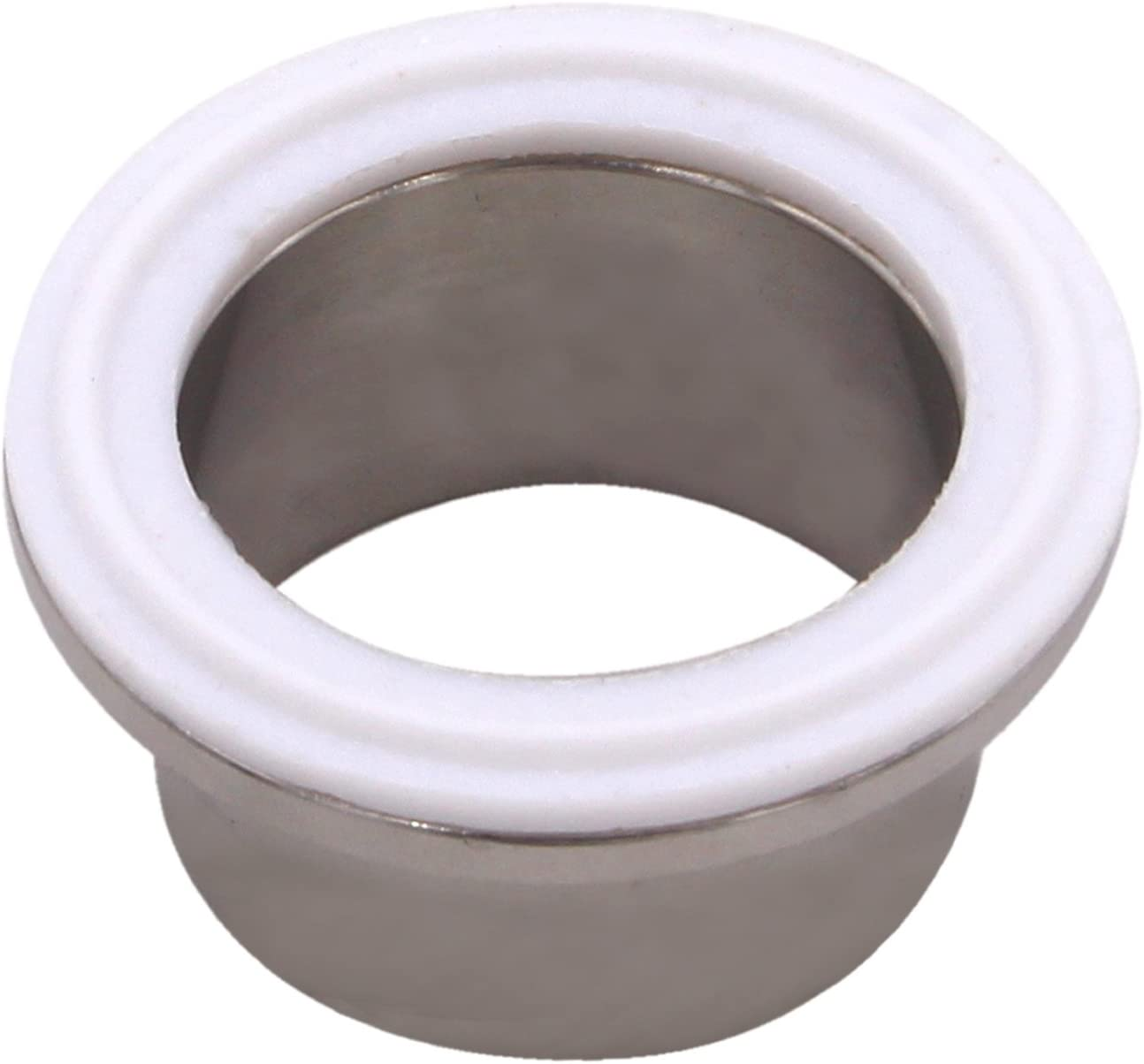 Teflon 1.5 Inch Style Fits OD 50.5MM Sanitary Pipe Weld Ferrule DERNORD PTFE Tri-Clamp Gasket O-Ring Pack of 20