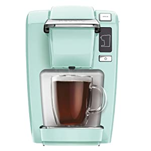 Keurig 5000196159 Mini K15 Single-Serve K-Cup Pod Coffee Maker, Oasis