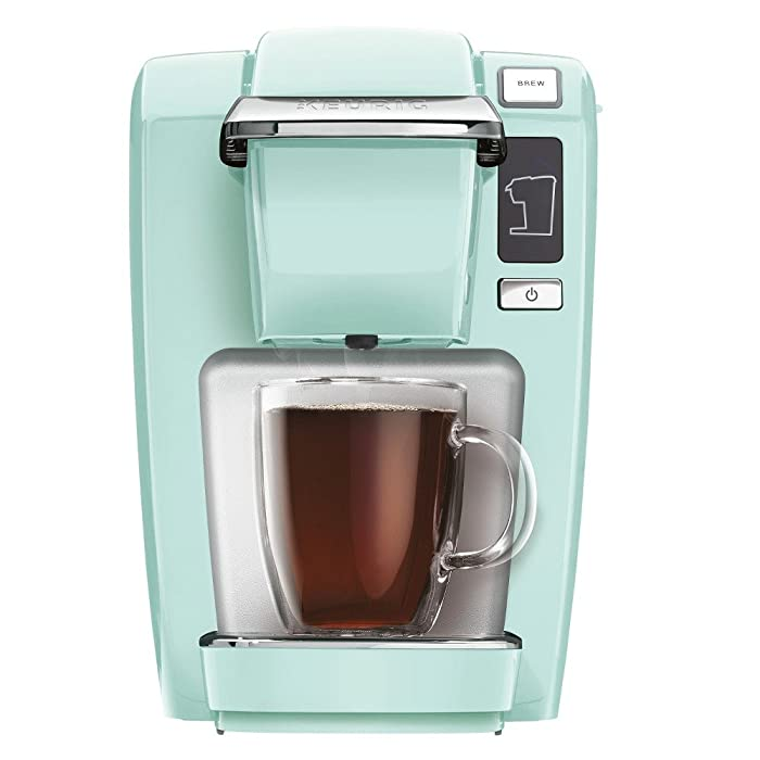 Keurig 5000196159 Mini K15 Single-Serve K-Cup Pod Coffee Maker, Oasis