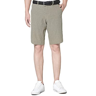 EAGEGOF Dry Fit Golf Shorts for Men Classic Fit Tapered Mens Shorts Athletic: Clothing