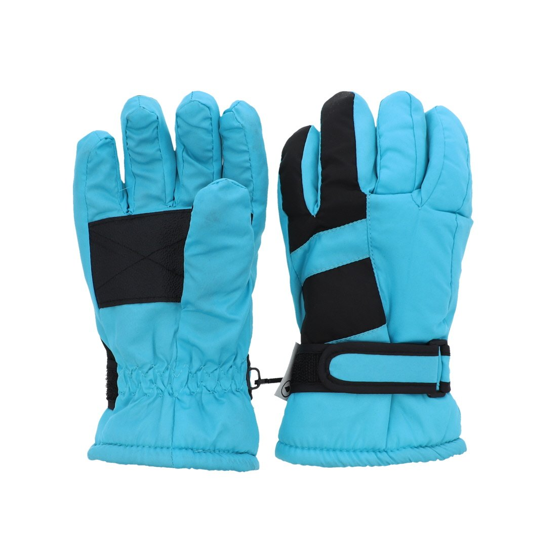 Waterproof Stripe Ski Gloves for Youth - Neon Yellow MTGL0052NY