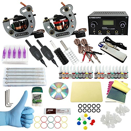 Wormhole Tattoo Complete Tattoo Kit for Beginners Tattoo Power ...