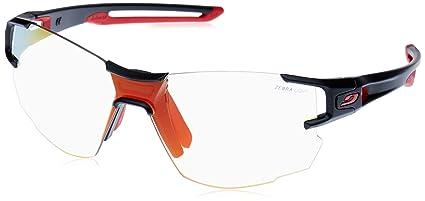 Julbo Aerolite Performance Sunglasses - REACTIV Zebra Light - Black Red fb5ebf4284