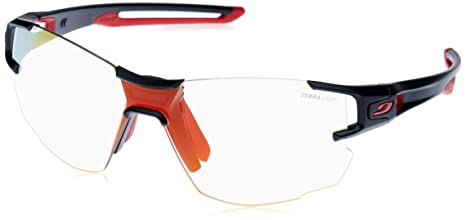 852d4aac9f Buy Julbo Aerolite Trail Running Sunglasses with Narrow Fit - Zebra -  Black Red Online at Low Prices in India - Amazon.in