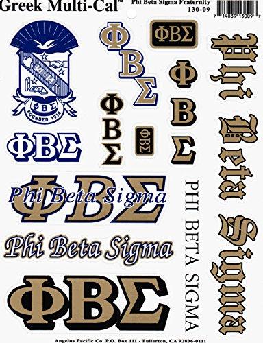 (Phi Beta Sigma Multi-Cal Sticker)