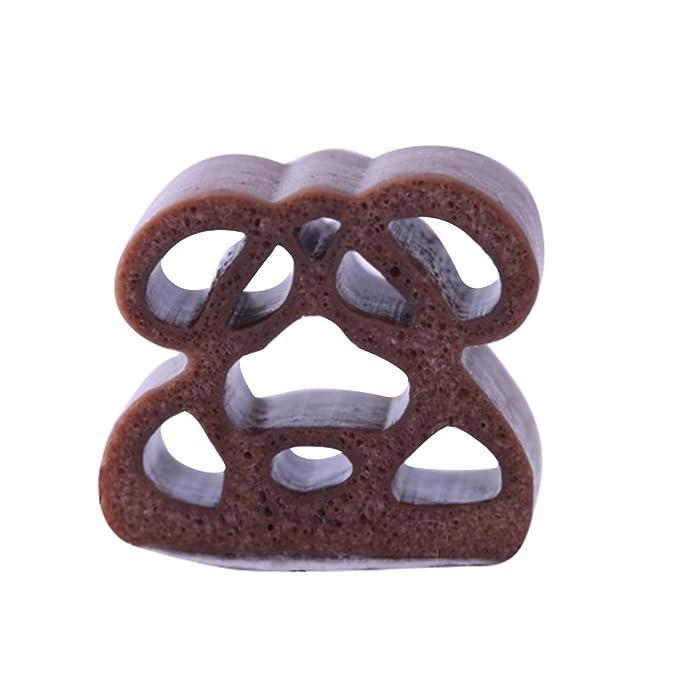 Lvguang Protector de Puerta de Coche Protección de Goma de Puerta Goma Borde de Coche Caucho Sello Protección de Borde Metal (Marrón#5,10 * 12 * 6000mm): ...