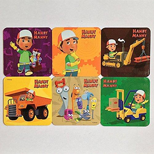 Handy Manny Refrigerator Magnets, 6 Playhouse Disney Junior Fridge Party Favors