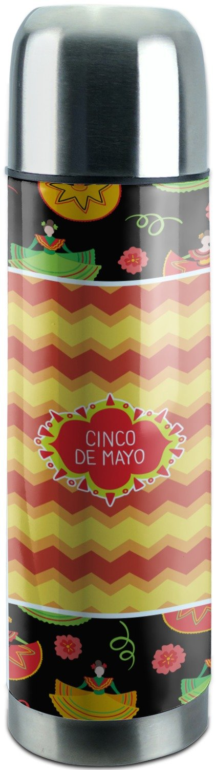 Cinco De Mayo Stainless Steel Thermos (Personalized)