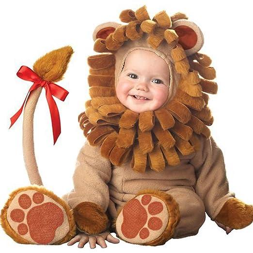 PoeHXtyy Disfraz de león para niños Halloween Infant Baby ...
