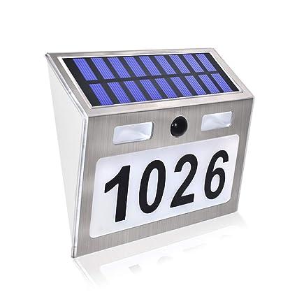 Amazon.com: comboss - Placa de luz solar con sensor de ...