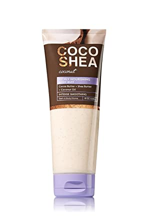 Bath & Body Works - Signature Collection - CocoShea Coconut - Body Buff – 8 OZ