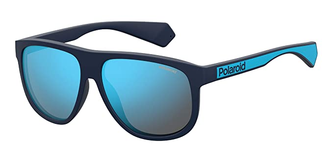 Polaroid PLD 2080/S Gafas de Sol, Multicolor (Mtt Blue), 58 para Hombre