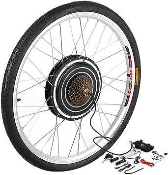 YESPER 26 Pulgadas 500 W 36 V Rueda Trasera para Bicicletas ...