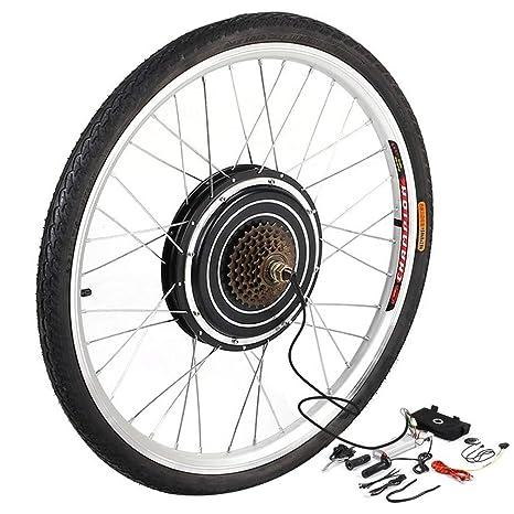 YESPER 26 Pulgadas 500 W 36 V Rueda Trasera para Bicicletas eléctricas Plug-It para