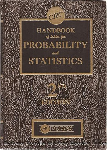 CRC Handbook of tables for Probability & Statistics