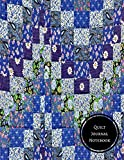 quilt diary - Quilt Journal Notebook: Quilting Log