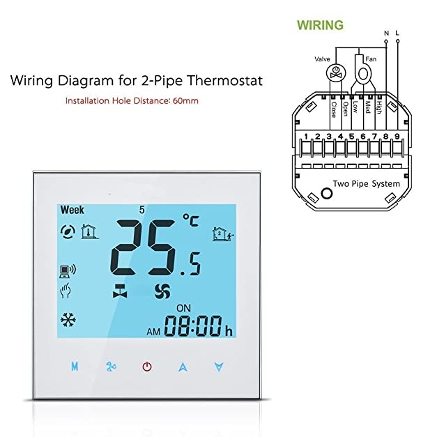 61v0YomCCbL._SX627_ wifi programmable thermostat,lcd touch screen temp air condition salus rt500rf wiring diagram at alyssarenee.co