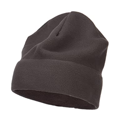 best website e67fb 0e66b Big Size Fleece Beanie - Heather (For Big Head) at Amazon Men s Clothing  store  Xl Beanie
