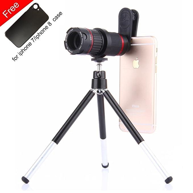 Amazon com: Phone Camera Zoom Lens Kit,Addprime Zoom 4X-12X