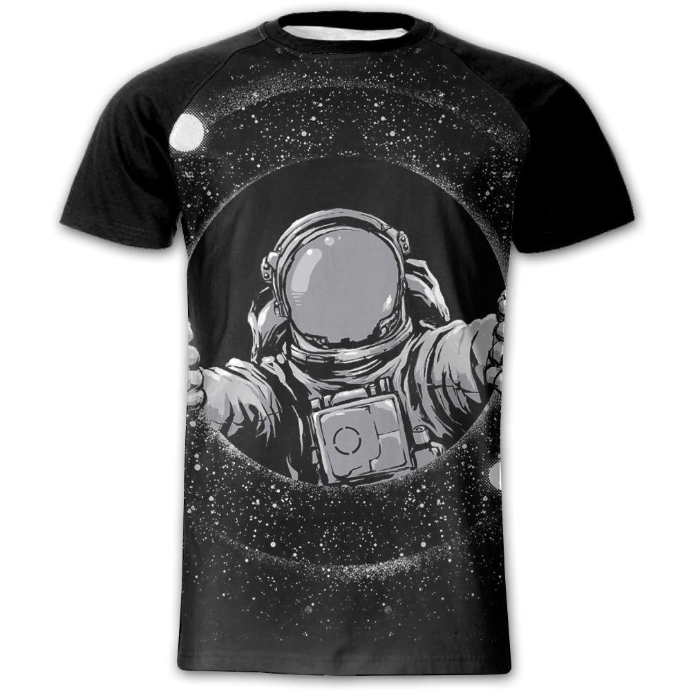 YRNGJFIFJEOL JFJ Black Hole Men's Short Sleeves Baseball Graphic Tees Tops Outdoor Tshirts Blouses