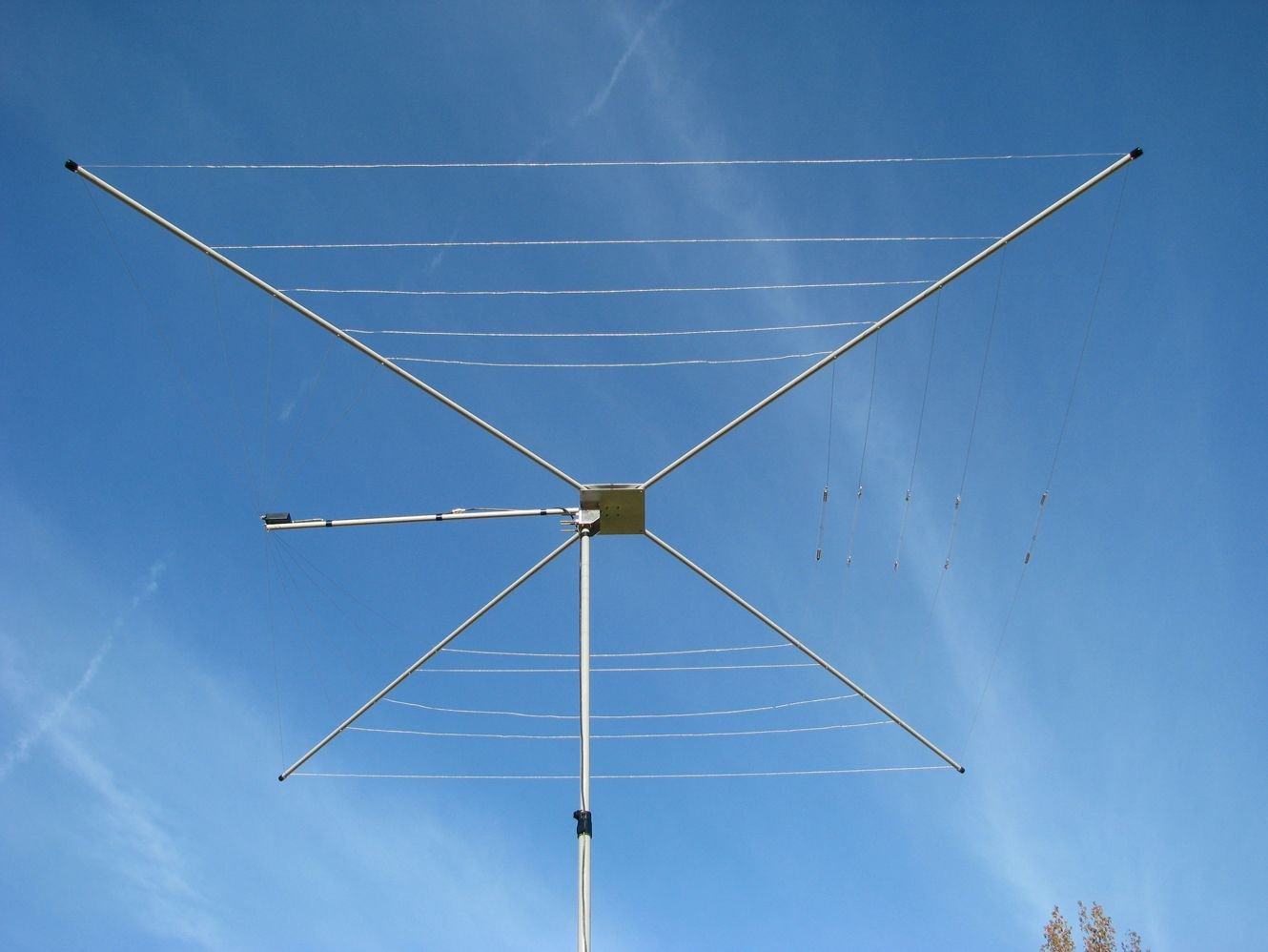 MFJ-1835 1/2 Wave 5 Band HF Cobweb Antenna