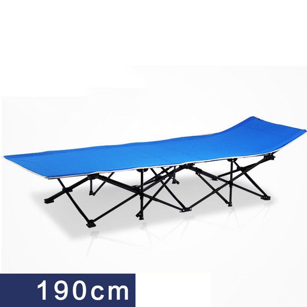 Zheng A折りたたみベッドシングルベッドソファシンプルオフィスランチCampベッドContactアウトドアEscort B074FZGXPF  190cma