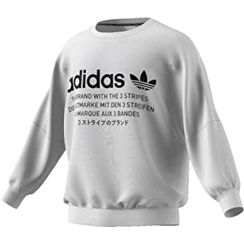 adidas NMD Crew Sweatshirt, Herren, Weiß (