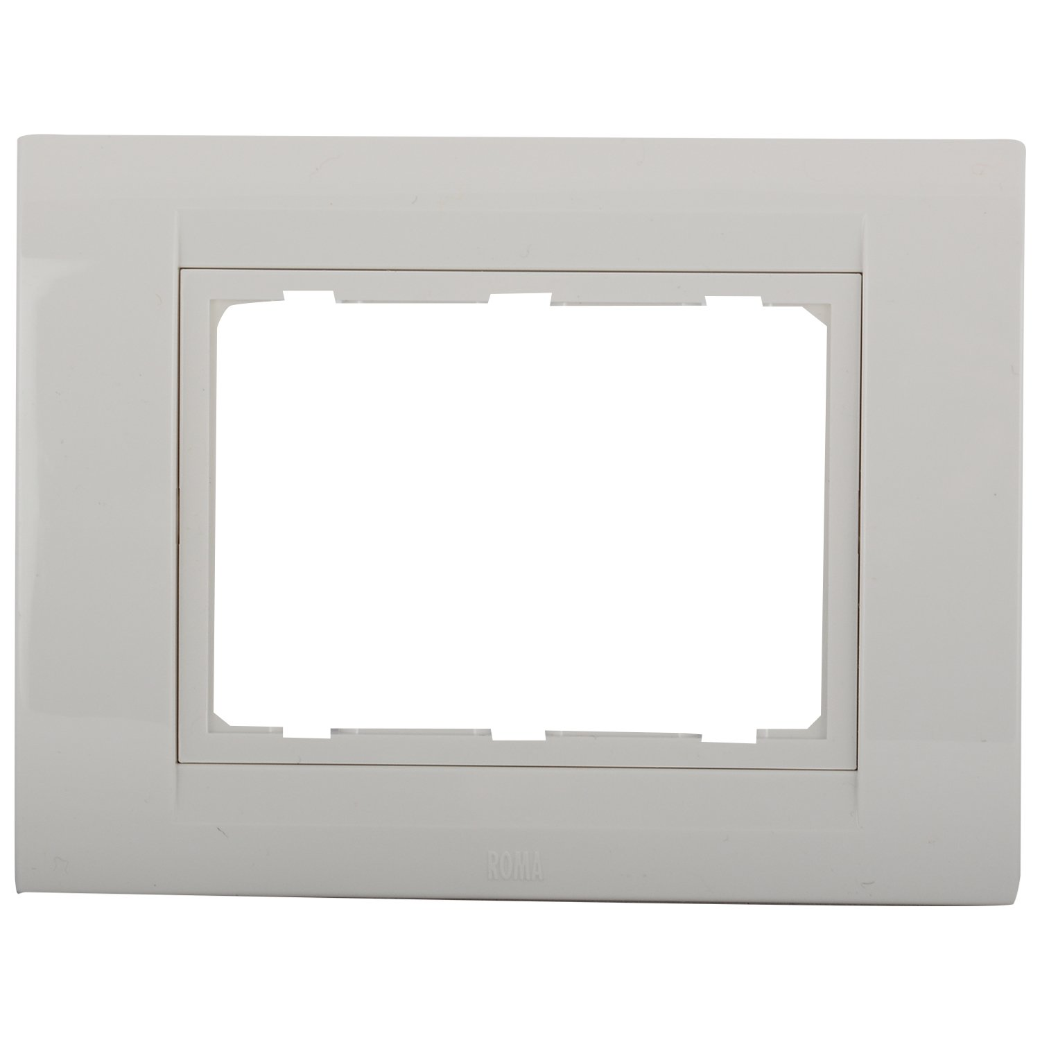 Wall Plates Online Buy In India Best Prices Wiring An Outlet Switch Combo Anchor Roma 3 Module Tresa Plate White