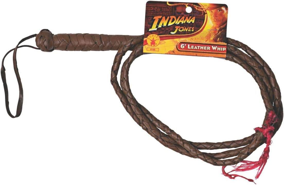 Rubies Indiana Jones Whip and Satchel Costume Accessories Brown