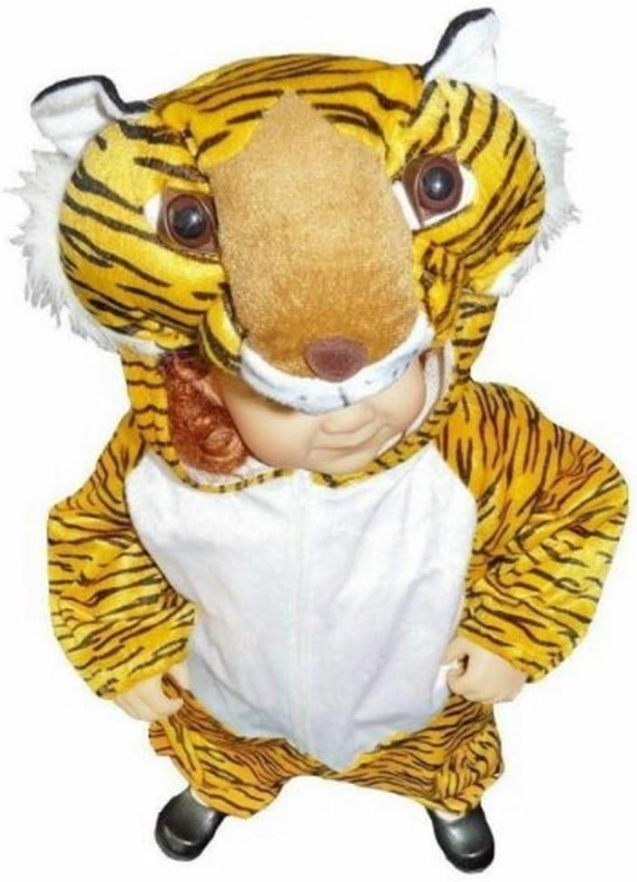 Ikumaal AN28, el tamaño de 2-3 años Disfraz de Animal para niños pequeños y bebés, Conveniente continuar Las Ropas Normales