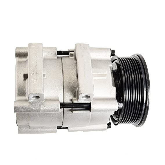 Ca a/c compresor w/de embrague para Ford Lincoln 4.6L 5.4L 6.8L 97 - 03 FS10: Amazon.es: Coche y moto