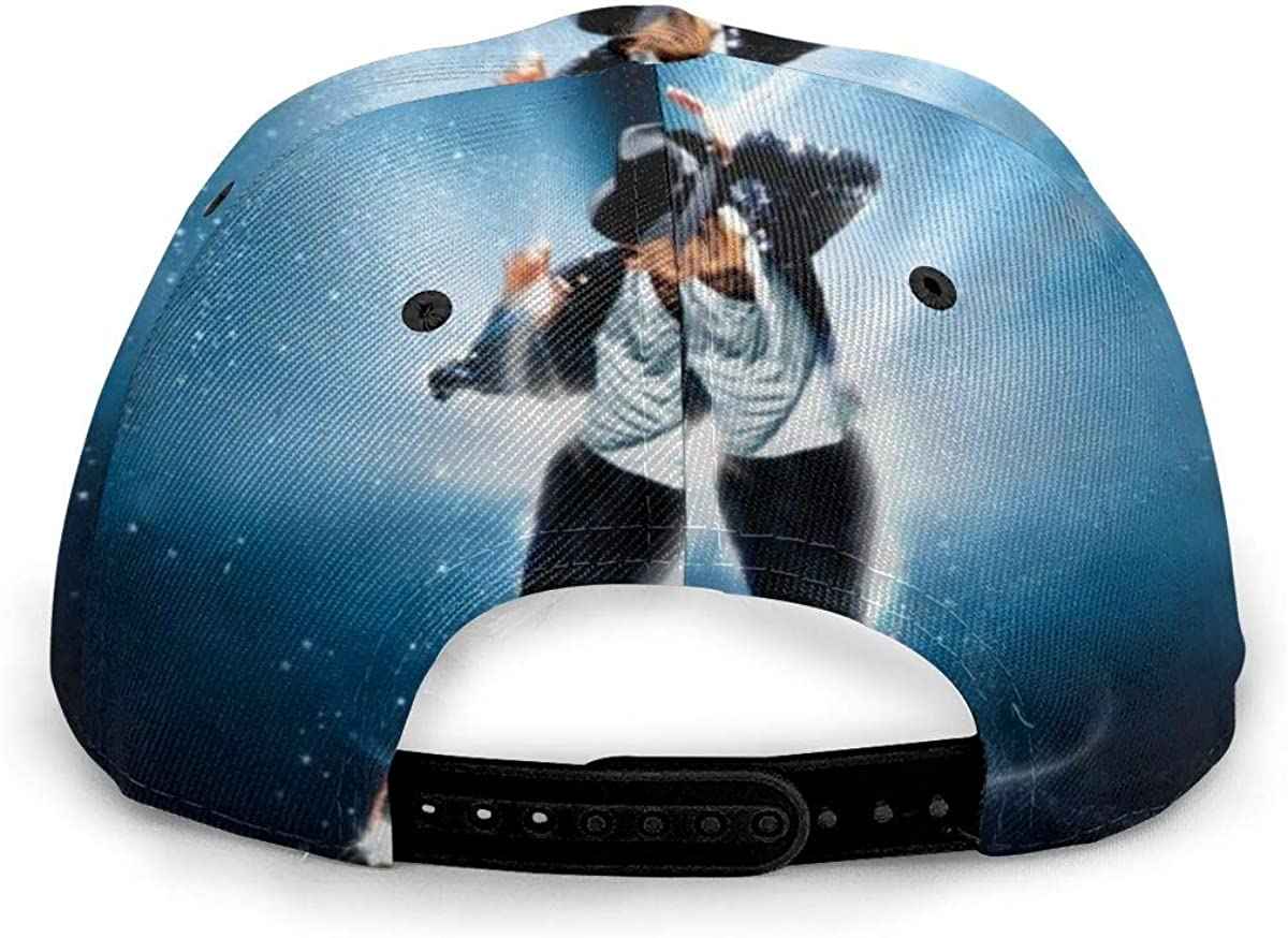Michael Jackson Baseball Cap Unisex Adjustable Hip Hop Hat Cotton Classic Washed Men Women Hat Black