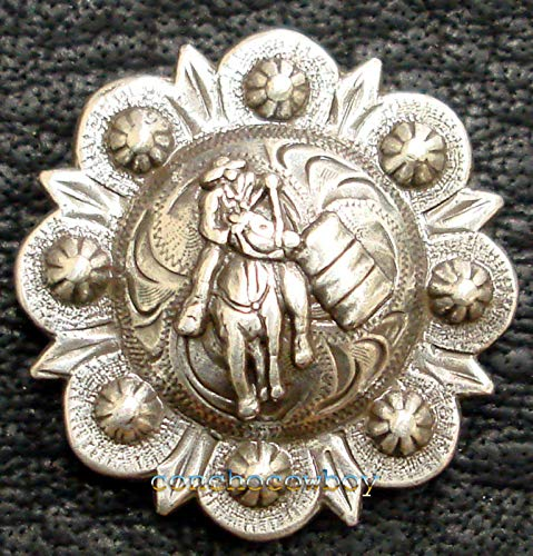 Conchos for Clothes Western Horse TACK Antique Barrel Racer Berry Saddle Concho 1-1/4