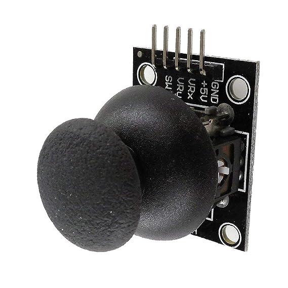HW-504 Joystick Breakout Module Shield para PS2 Joystick Game Controller Juego Rocker Lever Sensor Módulo para Arduino: Amazon.es: Electrónica