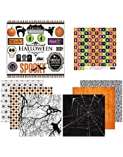 Scrapbook Customs Themed Paper and Stickers Scrapbook Kit, Halloween