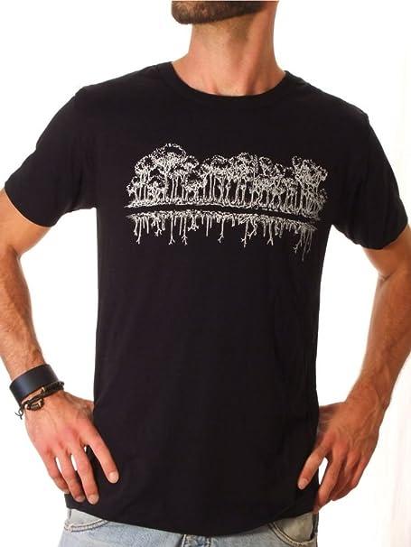 Life-Tree Ropa Justa Tencel Camiseta Hombre Mirror de Tencel y algodón ecológico