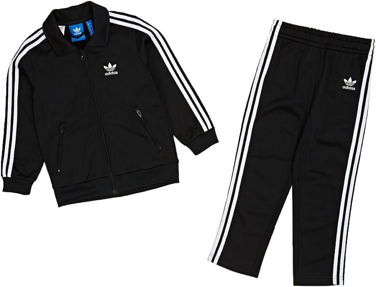 Chándal bebé, Adidas Originals negro/blanco 0-3 Meses : Amazon.es ...