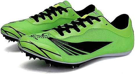 Super Amos Zapatillas Running Hombre,Zapatillas Deportivas para Correr Usar Deporte Moda Casual Aire Libre Corriendo Respirable Deportes Zapatos Botas de Spike Profesionales Hombre Adulto Training: Amazon.es: Deportes y aire libre