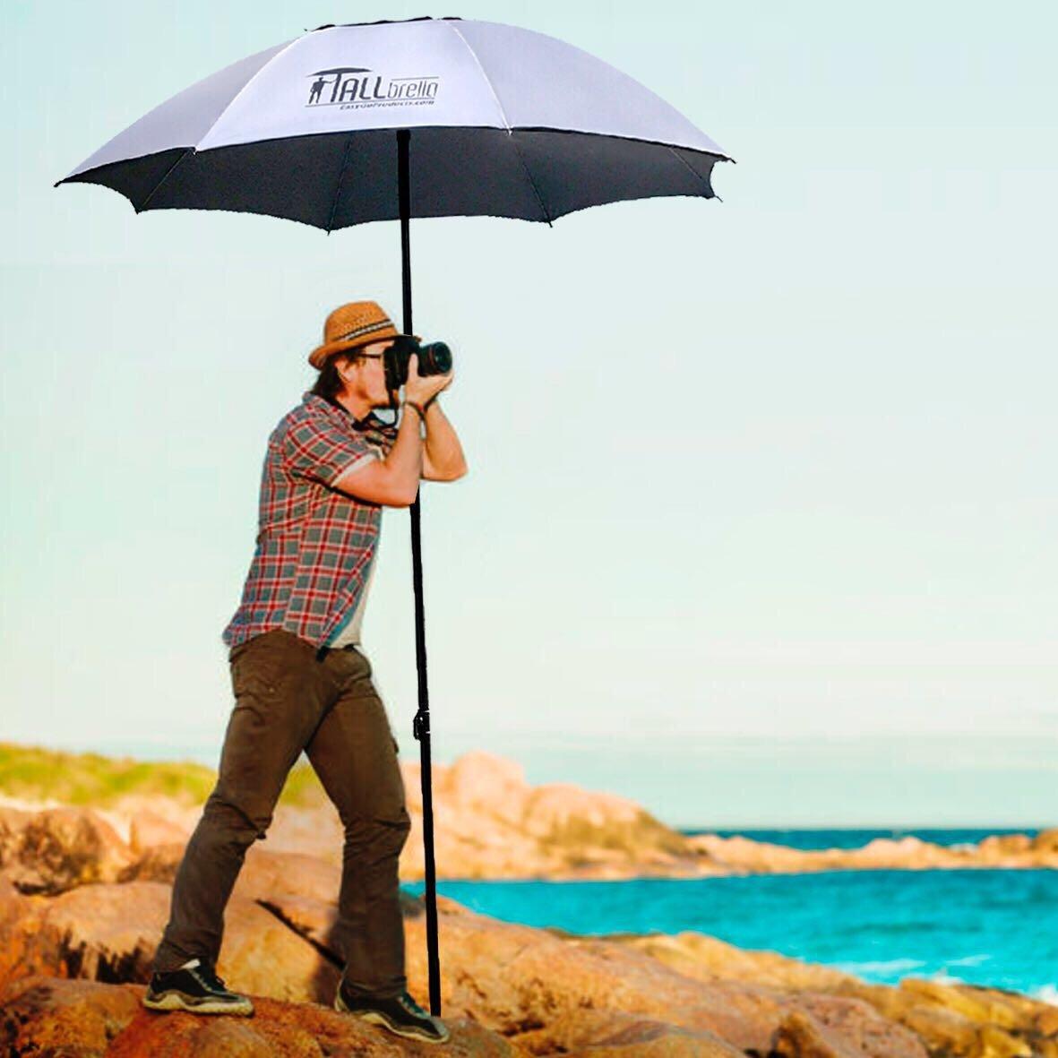 EasyGO Products Tallbrella - Artist/Photography/Sports Umbrella, 48'' Round