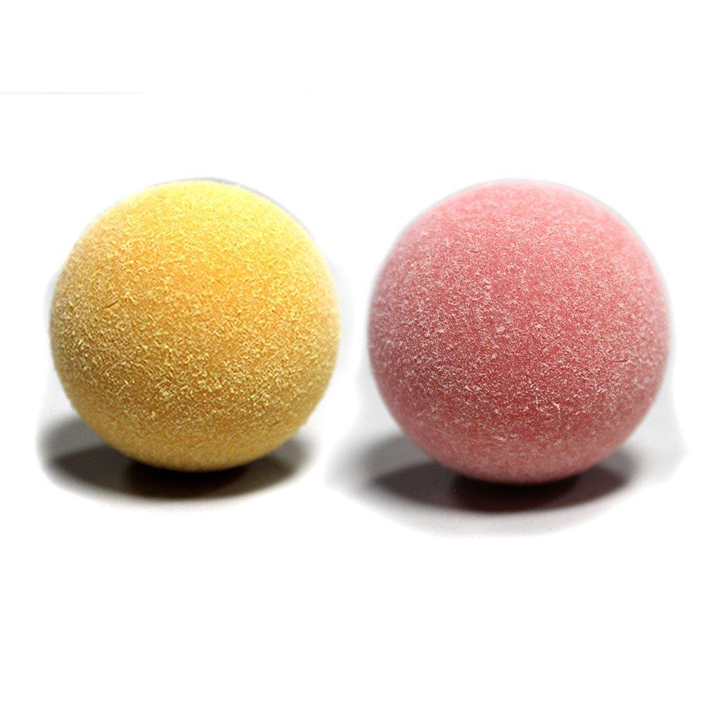 Official Classic Pink Yellow Tornado Foosballs