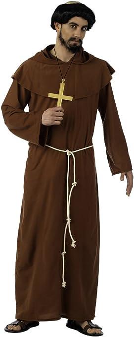 Limit Sport - Disfraz de monje franciscano medieval, para adultos ...