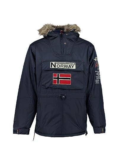 nouveau produit 4b416 93174 Geographical Norway - Parka Enfant Boomerang Marine-Taille ...