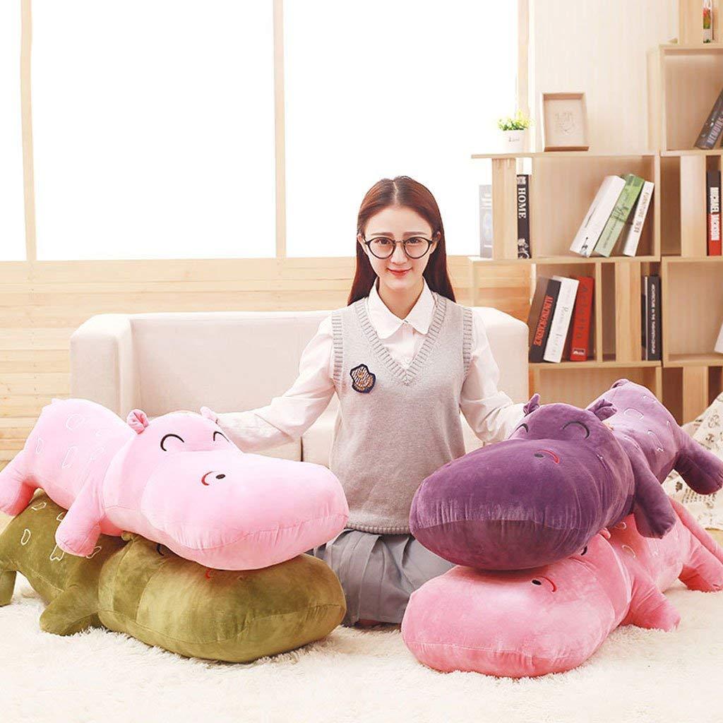 Doll Doll Doll Toy Istruttivo Toddler Giocattolo Popolare Cartone Animato Lovely Hippo Hold Cuscino Home Office Creativo Cuscino Nap Regalo di Natale (Coloreee  Rosso, Misura  100cm) 99ba10