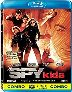 Spy Kids 1 (DVD+BD) [Blu-ray]