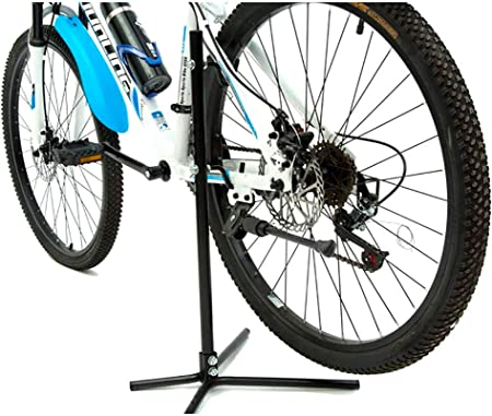 mediawave Store PDR Stand universal Rack Bicicleta a12163 con 2 Ganchos portabicicletas AL carro trasera: Amazon.es: Bricolaje y herramientas