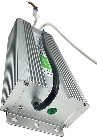 LED ruban YXH/® Transformateur Convertisseur Electrique Conducteur,200 Watt,Ac170-250v,DC Alimentation12V /étanche IP67 Pour /éclairage Interieur Modules LED,Multi-usage /éclairages Exterieur